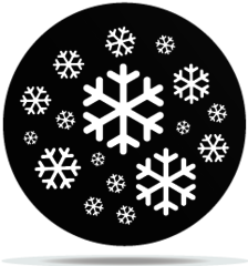 Gobo Weather Snowflakes