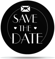 Gobo Wedding Save the date